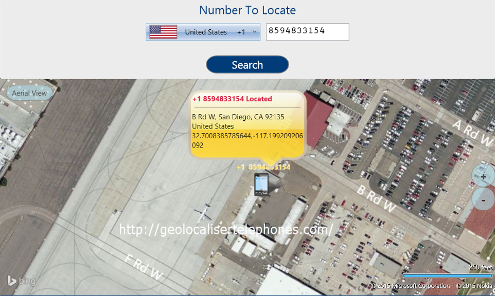 GeolocaliserTelephones Locate any phone anywhere