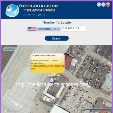 geolocaliser telephones software
